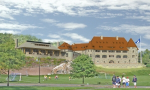 Rendering of Castle
